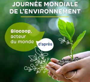 Journee mondiale de l'environnement 2020 biocoop