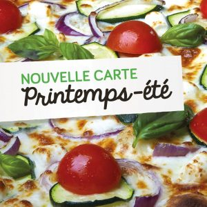 La Pizza de Nico lance sa carte printemps-été 2020