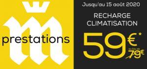 La franchise Midas propose la recharge climatisation à 59 € au lieu de 79 € !