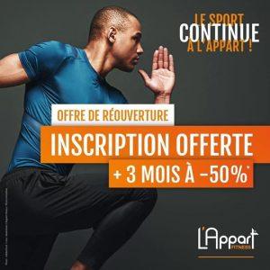 La franchise L'Appart Fitness propose des nouveautés à ses adhérents