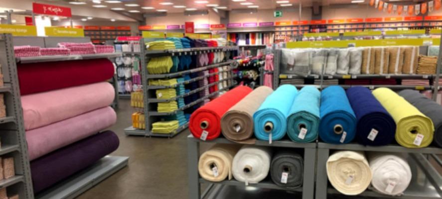 Ouverture d'un magasin franchisé Mondial Tissus à Fresnes