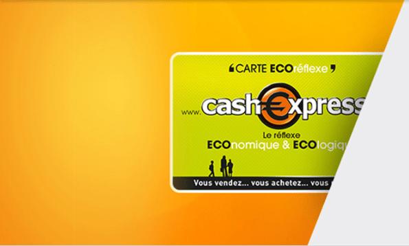 carte de fidélité Cash Express