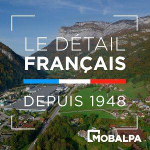 détails français depuis 1948 mobalpa