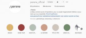 franchise perene instagram