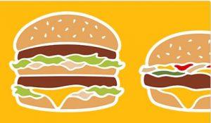hamburger Mc Donald's