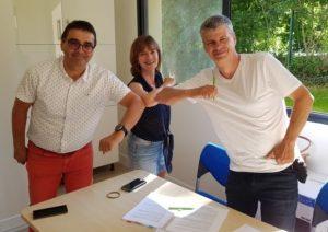 Alain Balandreaud, Sophie et Pascal Mallet les menus services