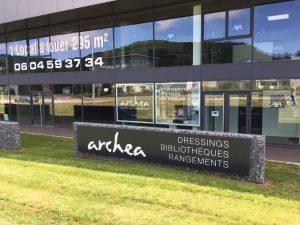 Façade Archea Annecy