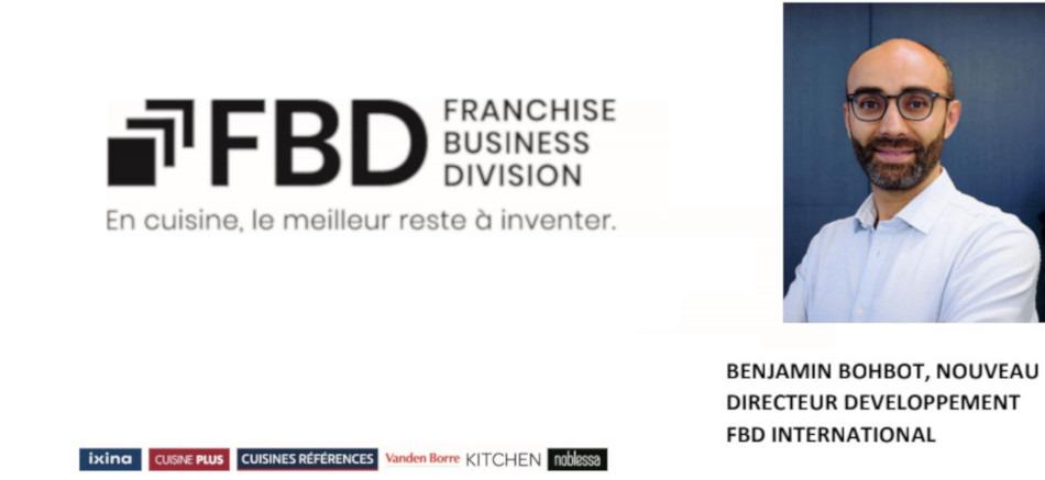 Benjamin Bohbot nouveau Directeur Développement du Groupe FBD