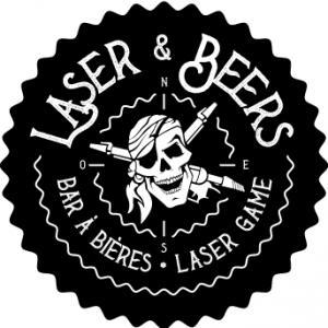 Logo Franchise Laser & Beers
