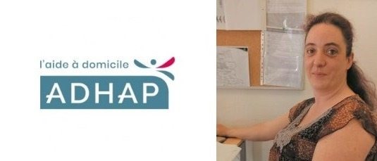 Sandrine Leclaire salariée agence Adhap Dunkerque