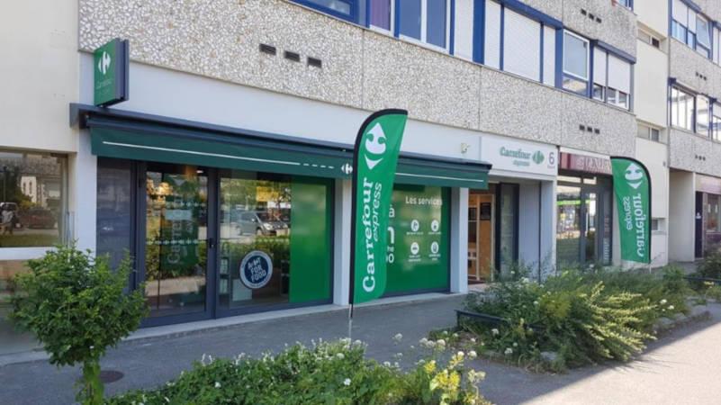 Carrefour Proximité point de vente