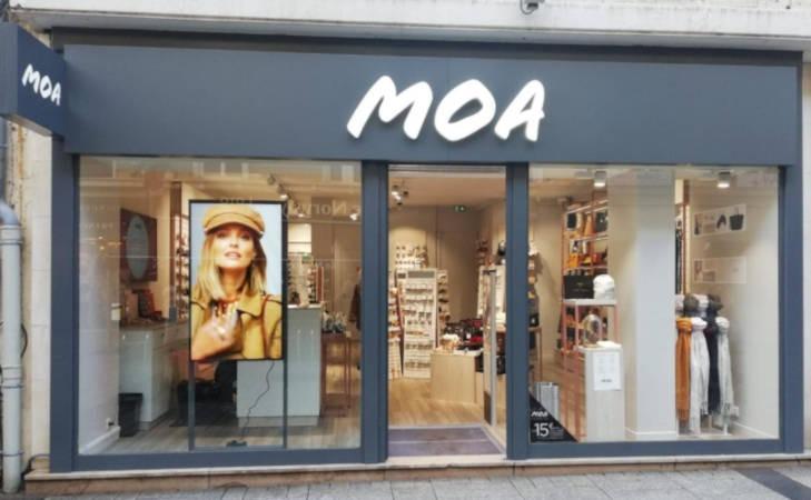 Des boutiques Moa ouvrent en France et à l'international