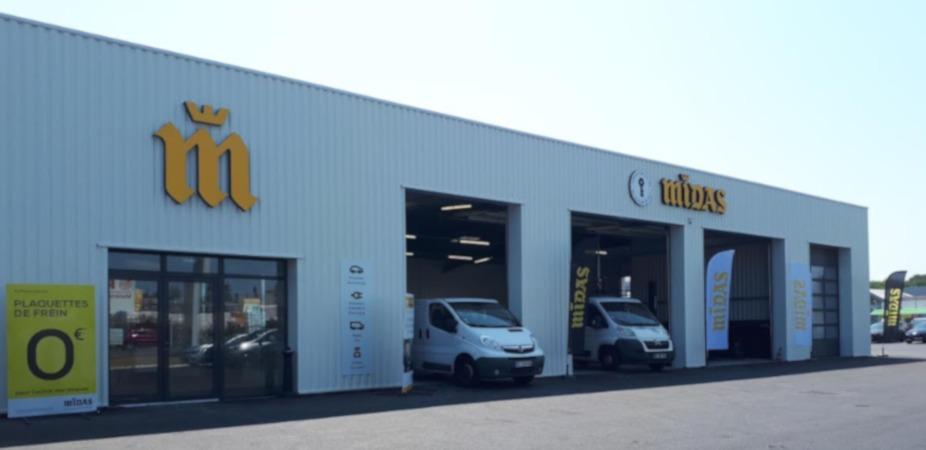 Christian DENIS ouvre son cinquième centre Midas en Nouvelle-Aquitaine