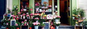extérieur boutique Au nom de la Rose