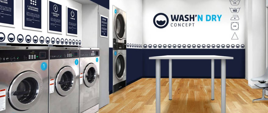 La franchise Wash'n dry s'installe en Charente-Maritime
