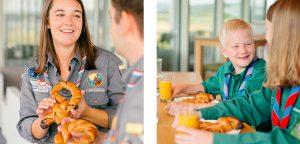 Fischer signe un partenariat avec Scouting in Luxembourg