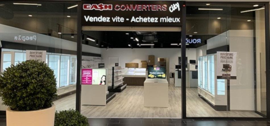 Cash Converters choisit de s'implanter en galerie commerciale
