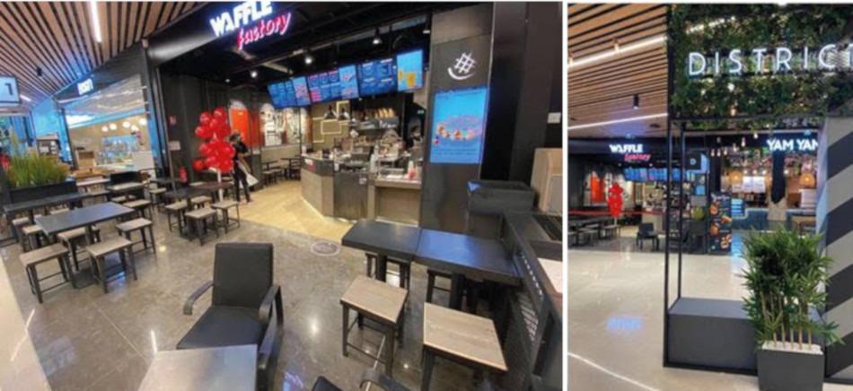 Un nouveau Waffle Factory dans le quartier de Cergy-Préfecture