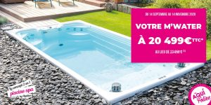 M'Water promotion aquilus