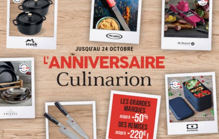 anniversaire Culinarion
