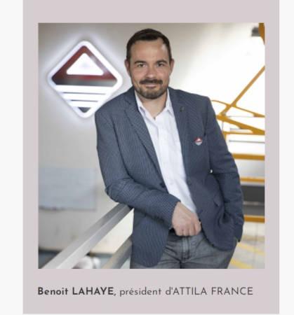 Benoït Lahaye fondateur ATTILA