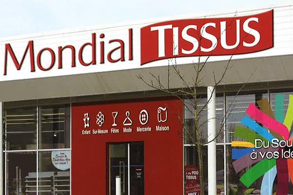 Mondial Tissus inaugurera son 100ème magasin en mars !