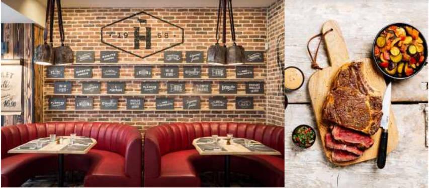 restaurant Garde du Nord Hippopotamus