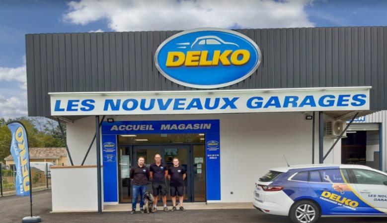 nouveau garage Delko Bessières