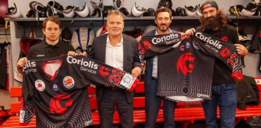 Coriolis à nouveau partenaire du club de Hockey sur Glace d'Amiens