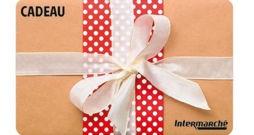 cartes cadeaux intermarché netto