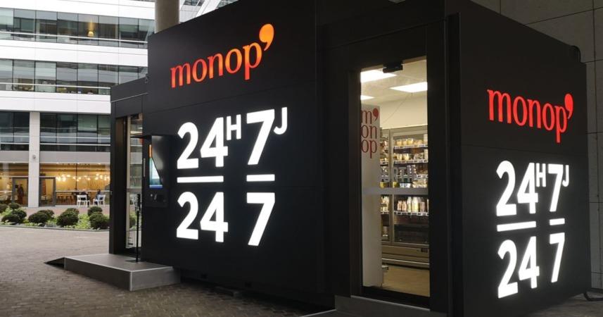 """Monop' présente """"Black Box"""", son magasin autonome"""