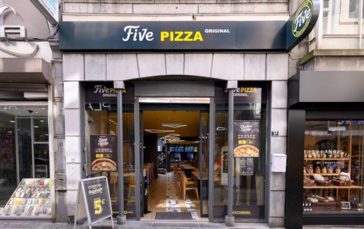 Un nouveau point de vente FivePizzaen Belgique