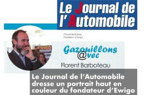 Le Journal de l'Automobile Portrait du fondateur du réseau Ewigo
