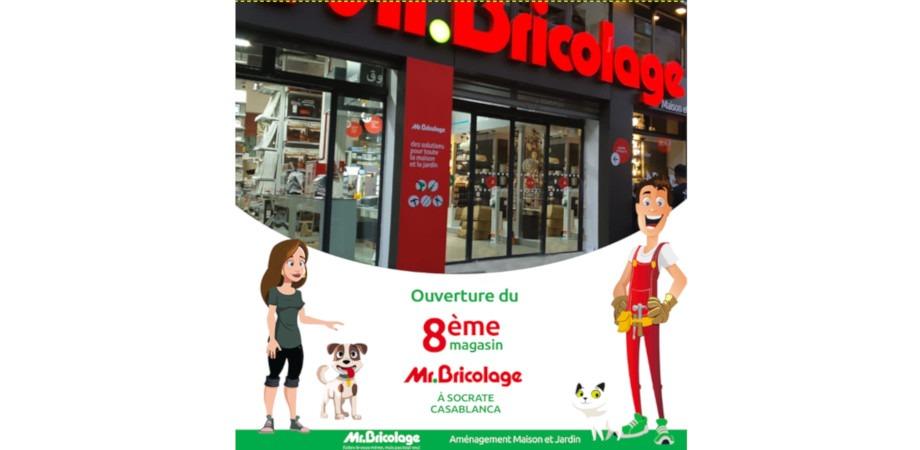 Le réseau Mr Bricolage ouvre son 8ème magasin Au Maroc