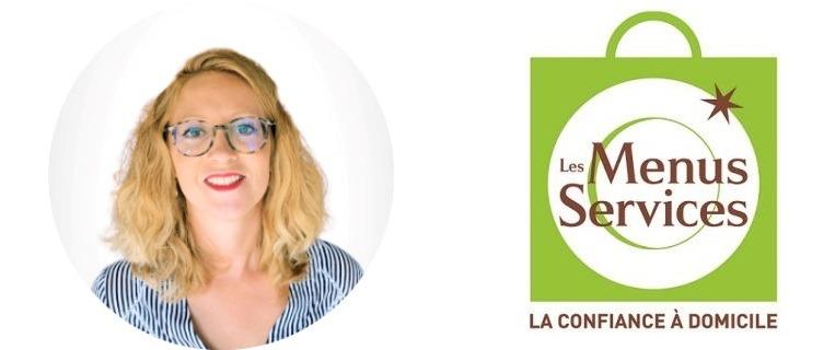 Marie-Laure Deplanche franchisée Les Menus Services Mâcon