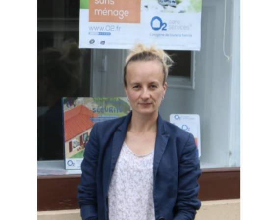 Sabine Favris nouvelle franchisée O2 Care Services