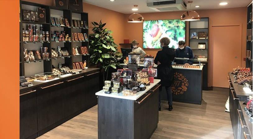 nouvellle boutique Lourdes Yves Thuriès