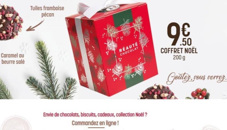 Site marchand réauté chocolat