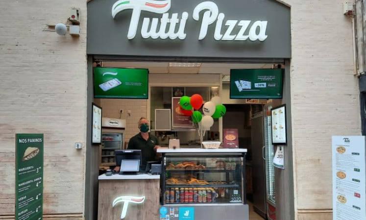 La franchise Tutti Pizza dévoile son nouveau concept de magasin