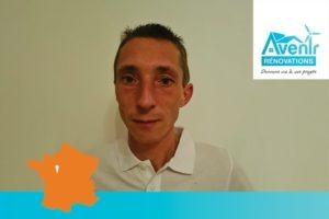 Baptiste Rouballay rejoint le réseau Avenir Rénovations