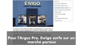 La franchise Ewigo positionnée sur un marché d'avenir selon l'Argus Pro