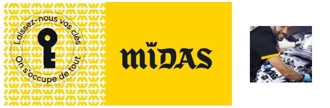 Midas lance ses offres promotionnelles de l'hiver
