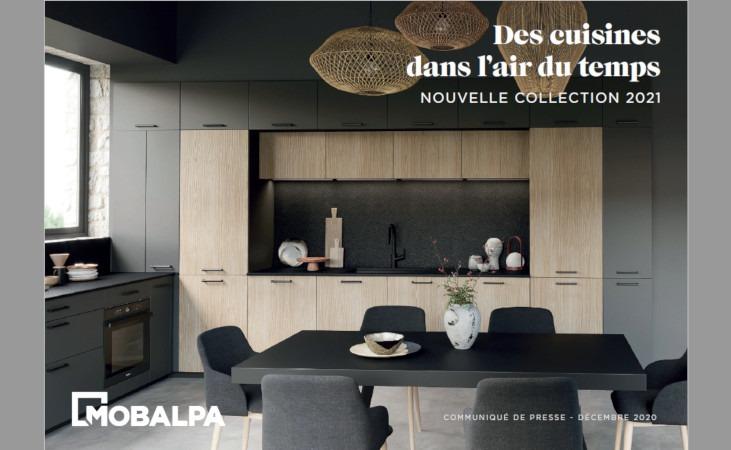 La franchise Mobalpa dévoile sa nouvelle collection de cuisines 2021