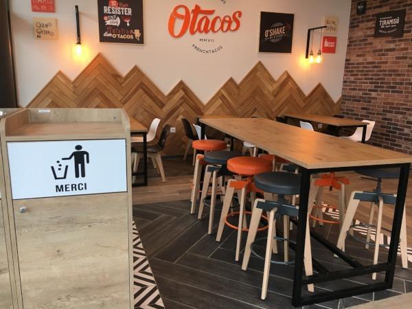 La franchise O'Tacos dévoile le nouveau design de ses restaurants