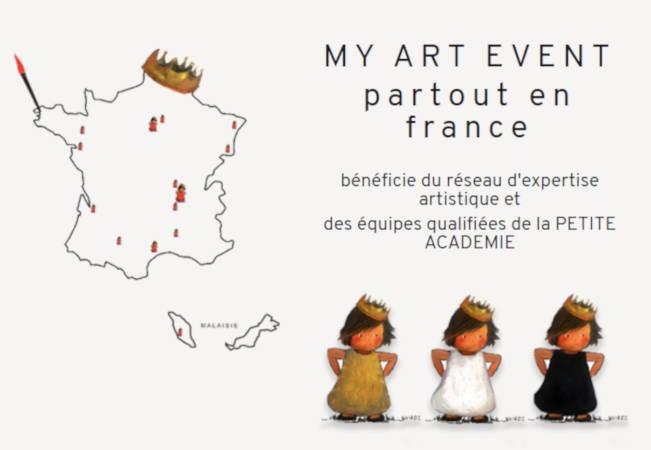 My Art Event, l'agence évènementielle du réseau La Petite Académie