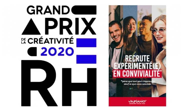 Vapiano France : Vainqueur du Grand Prix de la Créativité RH 2020
