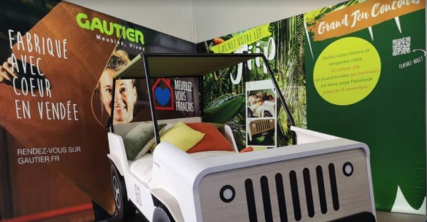 L'enseigne Gautier nommée « Mobilier Officiel » du Vendée Globe 2020