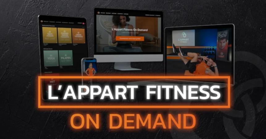 Les clubs L'Appart Fitness maintiennent leurs activités via internet