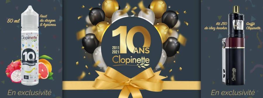 L'enseigne Clopinette célèbre son 10ème anniversaire