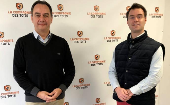 La franchise La Compagnie des Toits accueille son second adhérent